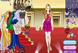 Belle robe de demoiselle d'honneur