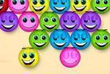 Bouncing smileys