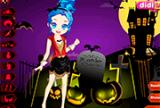 Счастливый Хэллоуин милашка