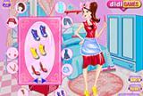 Fleißige Hausfrau