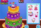 Hello Kitty Įkvėptas pyragas