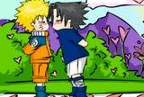 Naruto sasunaru kissing game