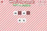 Kas yra žodis: Kalėdų šventė